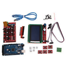Ramps 1.4 + A4988 + Mega2560 R3 + LCD 12864 3D Printer Controller Kit For RepRap