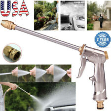 High Pressure Power Washer Water Spray Gun Brass Nozzle Wand Car Wash Garden US