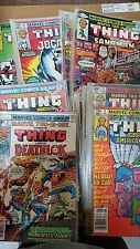 from Avengers Comic lot of 54 marvel two in one spiderman 6-99 fn-vf bagged