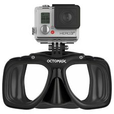 OCTOMASK - Diving / Scuba Mask with GoPro Hero 3 Mount