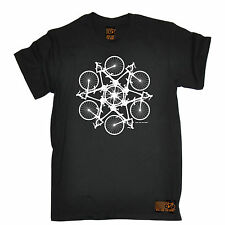 Cycling Kaleidospoke T-SHIRT tee jersey funny birthday gift 123t present for him