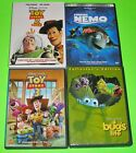 Disney Pixar DVD Lot - FINDING NEMO Toy Story Trilogy A BUG'S LIFE (Used)