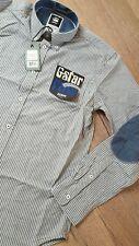 * G-Star Herren Langarmhemd Hemd gestreift Kasaki Shirt L/S 83201.4365.3155 XXL