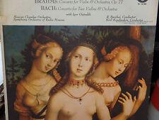 David Oistrakh Plays BRAHMS and BACH  33RPM 053016 TLJ