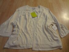 Women's Sag Harbor Sz 3X NWT Ivory Color Sweater