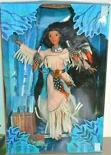 More details for 1996 special edition disney's pocahontas feathers in the wind doll by mattel