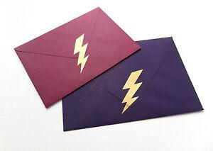 24 gold Lightning stickers, vinyl removable wallpaper Harry Potter