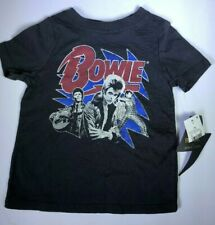 ece67cacc9 New ROCK Baby Junk Food David Bowie Black Vintage Style T Shirt 18m NWT  Concert