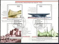 A2168 - GERMANIA FEDERALE 1997 - FOGLIETTO ARCHITETTURA N°36 - VEDI FOTO