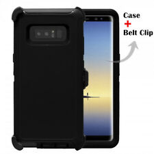 For Samsung Galaxy Note 8 Case Cover Universal Clip Fit Otterbox Defender BLACK