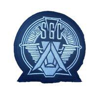 Stargate SGC TV show Iron On Patch Sew on Transfer Stargate Command SGC Atlantis