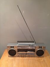 SHARP GF-500E Radio Stereo Cassette Tape Player Ghetto Blaster Boombox vintage