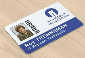 ALG ID Cards® IT Crowd - Roy Trenneman Novelty ID Card - Fast UK Freepost