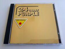 Deep Purple 24 Carat Purple CD 1993 Made in UK Brand New