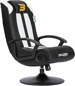 Fordable Surround Sound Gaming Chair Bluetooth Speakers Devices Brazen Stag 2.1