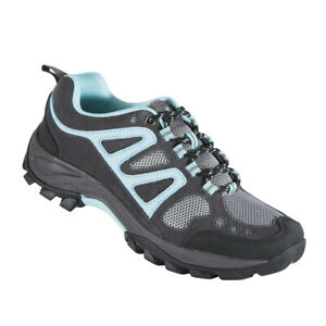 Browning Womens Delano Trail Shoe Pavement/Blue Radiance