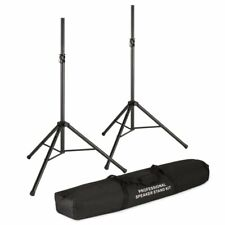 Koda TSS023 Speaker Stand Pair with Carry Bag