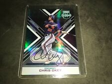 2018 Panini Elite Extra Edition Chris Okey Autograph #02/10