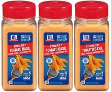 (3 Pack) McCormick Sundried Tomato Basil Sauce & Seasoning Mix - 7.87 oz