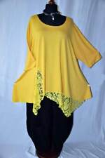 My Obsession- Look lungo °°Zipfel- Tunica Jersey & Pizzo °°Giallo Sole °°