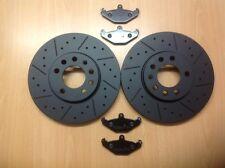 VX220 2.0 2.2 SPEEDSTER arrière noir Edition MTEC DISQUES DE FREIN et mintex