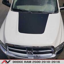 Dodge RAM 2500 10-16 Hood Blackout decal truck large sticker Matte Black