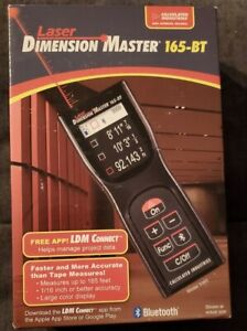 Calculated Industries Laser Dimension Master - 165-BT Bluetooth Android IOS 📏📐