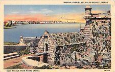 Cuba postcard Havana Habana Avenida del Golfo Desde El Morro, Gulf Avenue