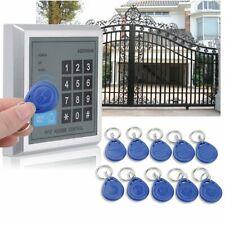 Serrure Porte RFID Entrée Système avec 10 Clé Contrôle D'accès Digicode Clavier