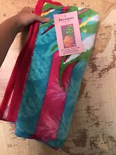 NEW JUICY COUTURE TROPICAL HOLIDAY BEACH TOWEL