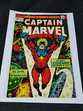 Captain Marvel #29 (Nov 1973, Marvel) Good Condition See All Pictures