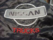 NISSAN Trucks   Black Satin embroidered Jacket Adult  3 XL