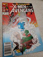 F834 X-Men Vs. The Avengers 3 Marvel 1987 Comic Book Fast shipping