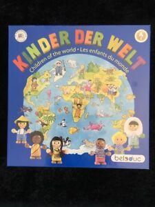 KINDER DE WELT CHILDREN OF THE WORLD WOODEN BOARD GAME. BRAND NEW. RRP $84