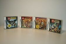 LEGO INDIANA JONES 1 + 2 + BATMAN + STAR WARS KOMPLETTE SAGA NINTENDO DS 3DS 2DS