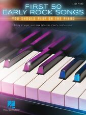 First 50 Early Rock Songs You Should Play on the Piano Sheet Music Eas 000160570