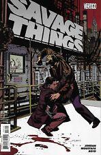 Savage Things Comic Issue 3 Modern Age First Print 2017 Jordan Moustafa Boyd