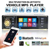 """4.1"""" 12V Bluetooth Car Stereo Radio MP5 MP3 Player FM Audio TF/AUX/USB Charger"""
