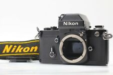 [MINT] Nikon F2 Photomic A 35mm SLR Film Camera Body Black DP-11 from Japan a134