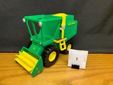(I) RC2 JOHN DEERE Harvester or Combine Toy Tractor GUC Free US Shipping