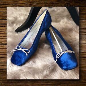 Kate Spade New York Women's Velvet Ballet Flats Size 8 1/2
