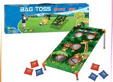 Zoo Animal Bean Bag Toss Carnival Game Jungle Party Games