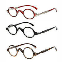 Retro Vintage Reading Glasses Small Round Readers 1.0 1.5 2.0 2.5 3.0 3.5