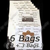GENUINE 6 Pack pk Kenmore 54321 Canister Vacuum Bags C/Q 5055 KM48700-12 C-18