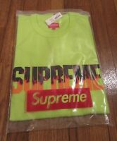 Supreme Flame S/S Top Size Large Bright Green FW19KN91 FW19 Supreme New York New