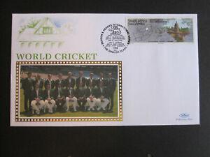 Cricket theme - South Africa 1996 Benson & Hedges Series - Benham cover