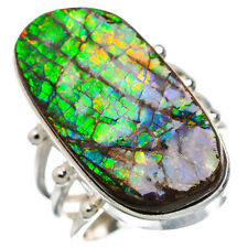 Ammolite 925 Sterling Silver Ring Size 6.5 Ana Co Jewelry R846022F
