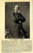Armeemusikinspizient Prof. Roßberg geht in den Ruhestand Histor. Memorabilie1905
