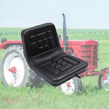 More details for adjustable universal tractor seat dumper digger forklift mower seat w/backrest