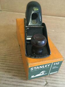 Vintage Stanley No 110 Block Plane With Original Box